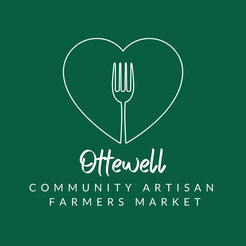 Ottewell farmers market logo of fork in heart